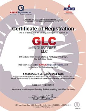 Certificate of Registration 2020